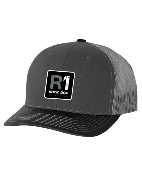 Rack One Hat Gray Mesh